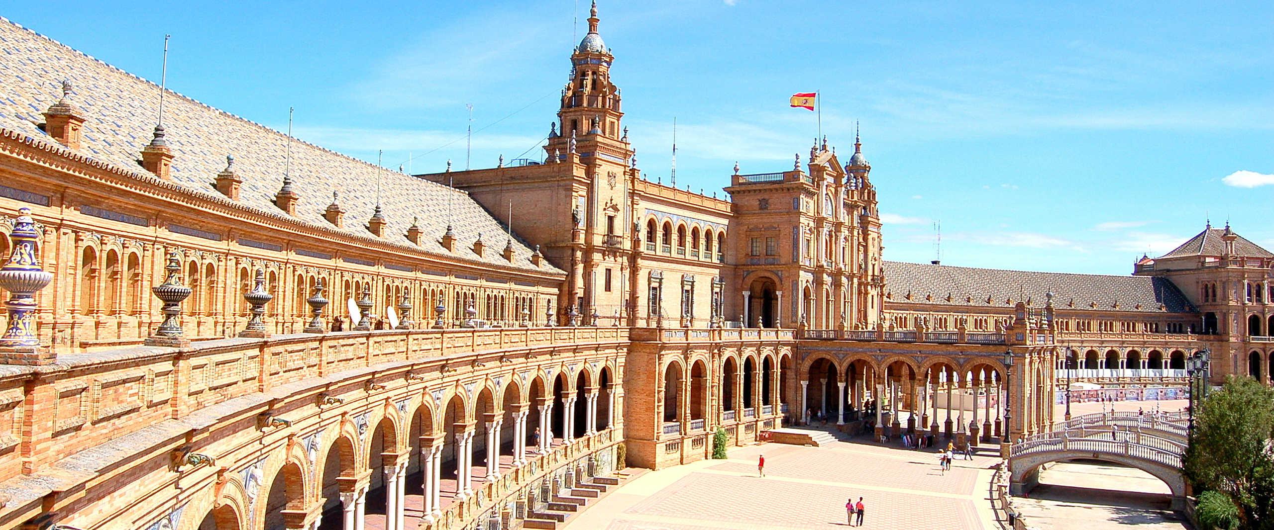 Praca de Espana in Sevilla