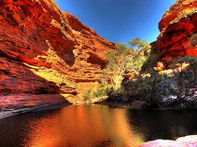 Rundreise Australien Kings Canyon