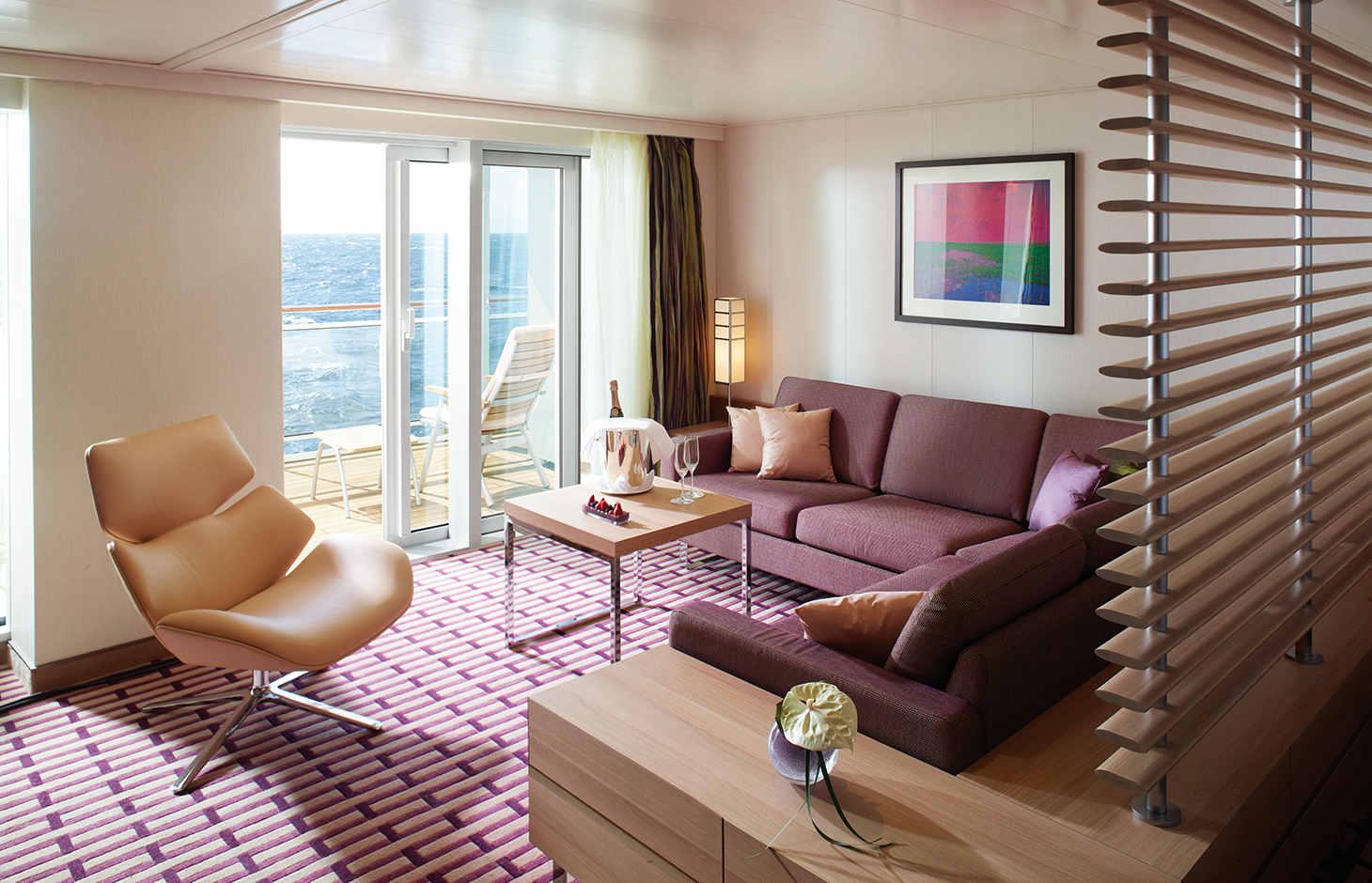 Grand Ocean Suite auf der EUROPA 2