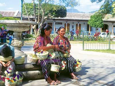 Rundreise Mittelamerika Markt Guatemala