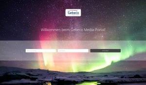 Gebeco Media Portal