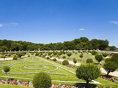 Radreise Frankreich Chenonceau Park