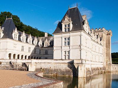 Radreise Frankreich Loire Schloss Villandry