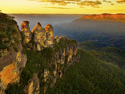 Rundreise Australien Blue Mountains