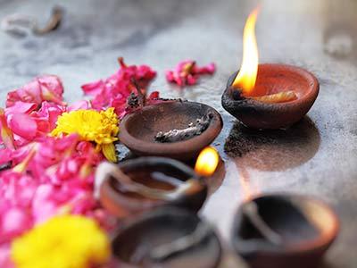 Rundreise Indien Tempel Licht