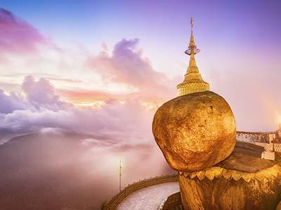 Rundreise Myanmar Goldener Felsen
