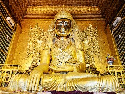 Rundreise Myanamr Rangun Mahamudi-Buddha