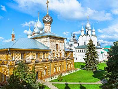Rundreise Russland Jaroslawl