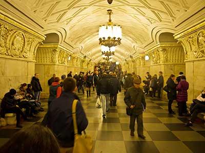 Rundreise Russland Metro