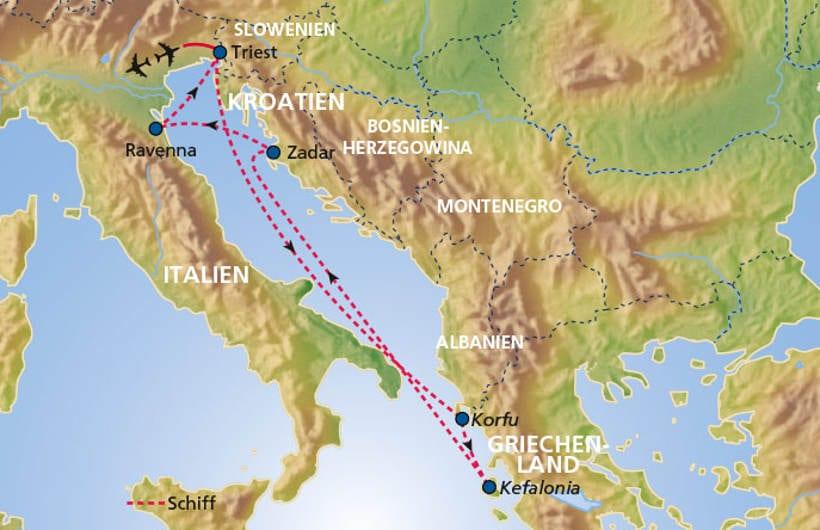 TUI Cruises Seereise Adria mit Zadar