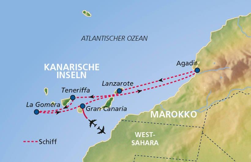TUI Cruises Seereise Kanaren mit Lanzarote