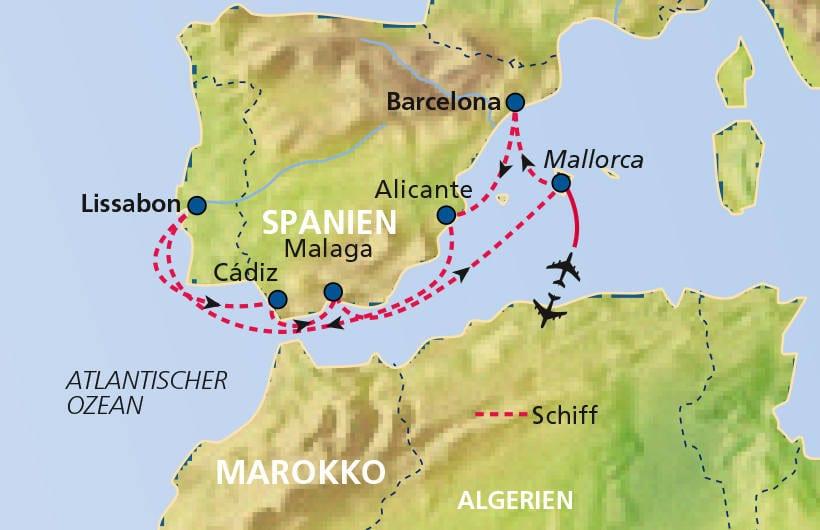 TUI Cruises Seereise Mittelmeer mit Lissabon