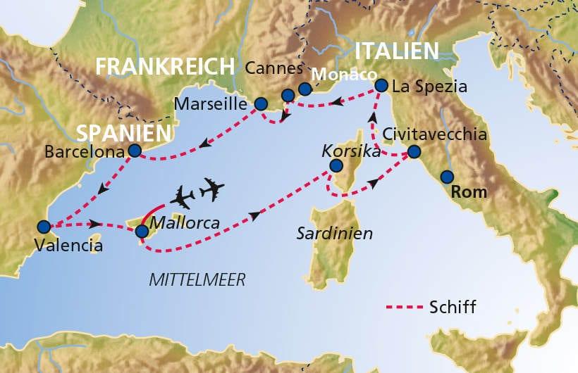 TUI Cruises Seereise Mittelmeer mit Valencia