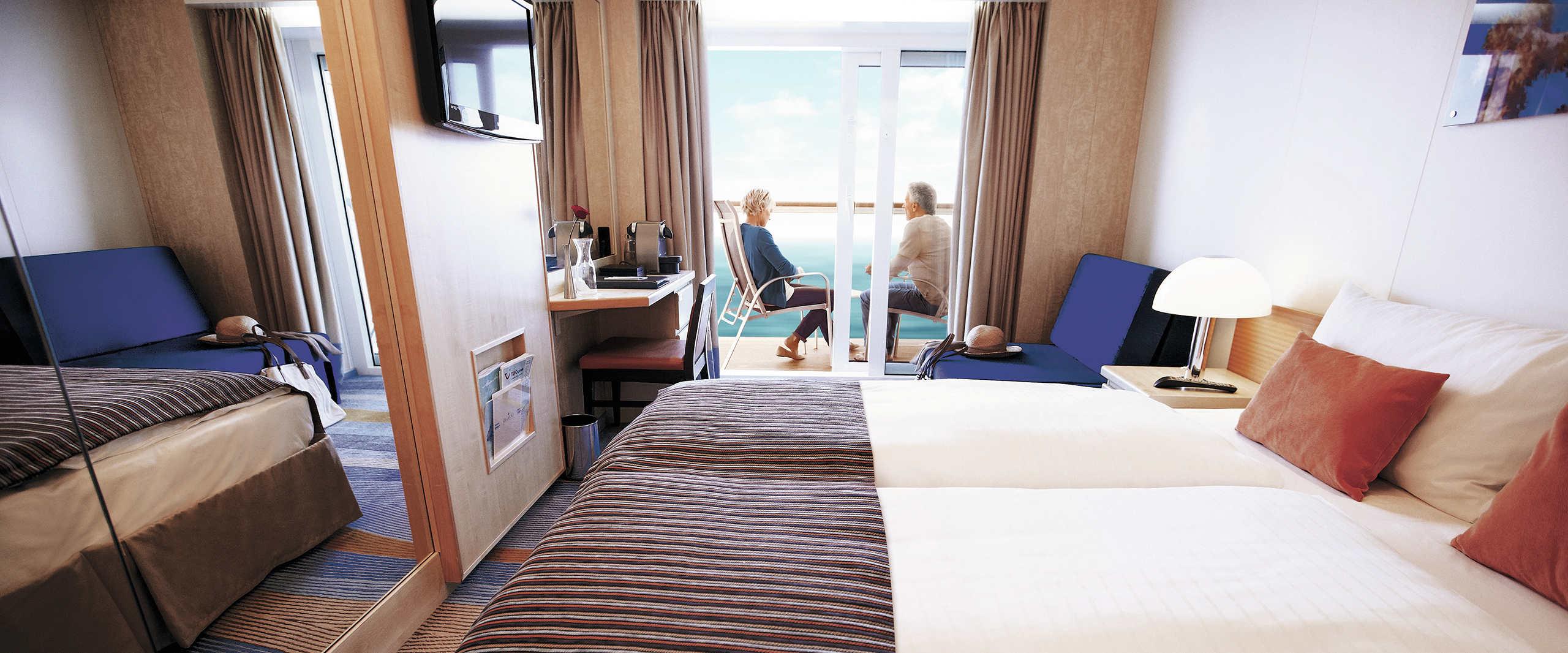 Mein Schiff - Suiten und Kabinen