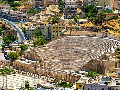 Rundreise Jordanien Amman Roman Theater