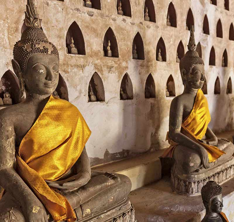 Rundreise Indochina Wat Sisaket Teaser