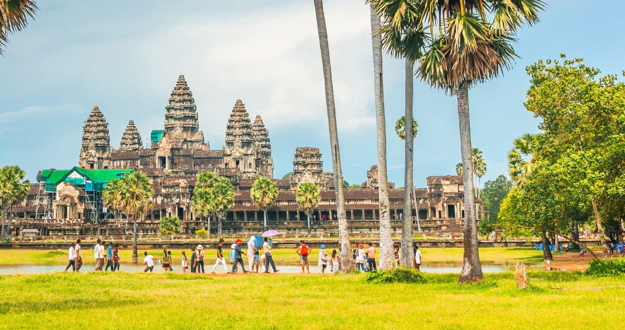 Kambodscha - Tempel und Kolonialflair