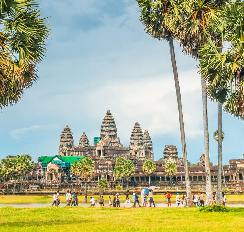 Rundreise Kambodscha Angkor Wat
