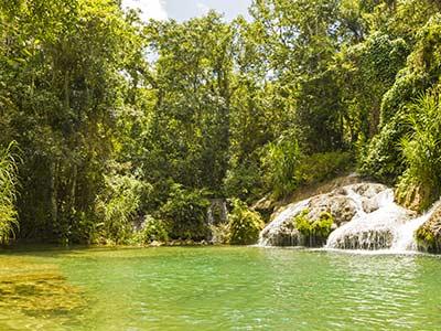 Kuba Rundreise Scambray Wasserfall