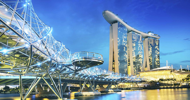 Kontrastreiches Singapur