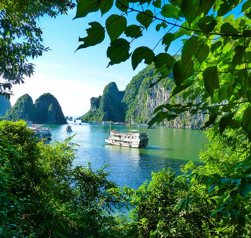 Rundreise Vietnam Halong Bucht