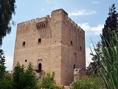 Rundreise Zypern Kollosi Burg