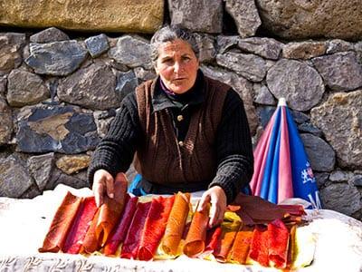 Rundreise Armenien Marktplatz