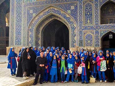 Rundreise Iran Isfahan Moschee