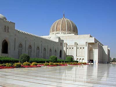 Rundreise Oman Sultan-Qabus-Moschee
