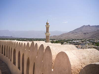 Rundreise Oman Nizwa-Festung