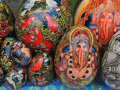 Rundreise Bali Ubud Malerei