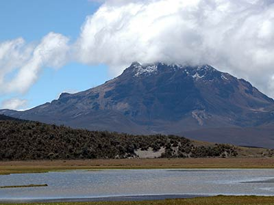Rundreise Ecuador Hochlandvulkan
