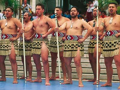 Rundreise Neuseeland Maori Haka Tanz