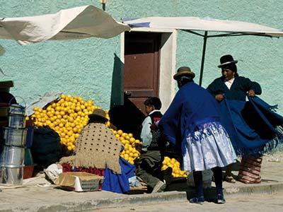 Rundreise Bolivien Markt