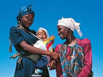 Rundreise Kenia Massai mit Baby