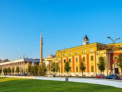 Rundreise Albanien Tirana