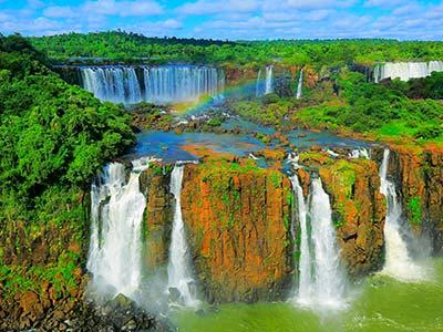 Rundreise Brasilien Iguassu Wasserfälle
