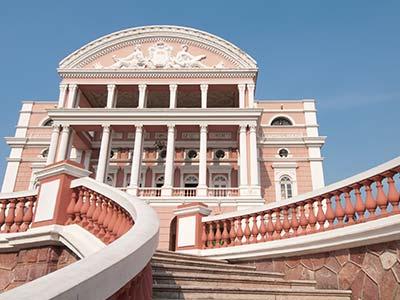 Rundreise Brasilien Manaus Opernhaus