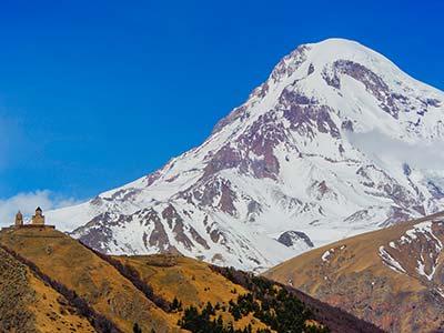 Rundreise Georgien Gebirge im Kaukasus