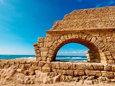 Rundreise Israel Caesarea