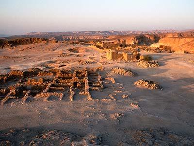 Rundreise Israel Masada Festung