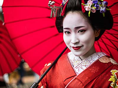 Rundreise Japan Geisha