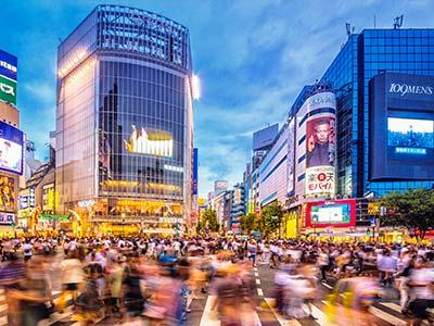 Rundreise Japan Tokyo