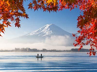 Rundreise Japan Fujisan Vulkan