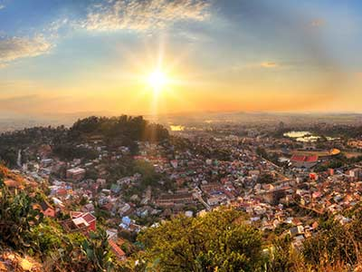 Rundreise Madagaskar Antananarivo