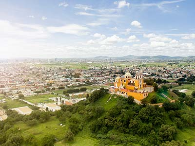 Rundreise Mexiko Puebla