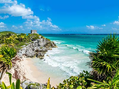 Rundreise Mexiko Tulum