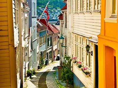 Rundreise Norwegen Bergen