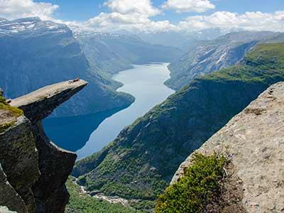 Rundreise Norwegen Trolltunga