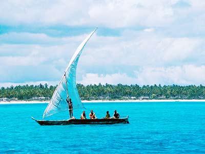 Tansania Urlaub Zansibar Segeln